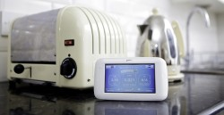 """British Gas' energy monitor, the """"Pebble"""" in domestic settings"""