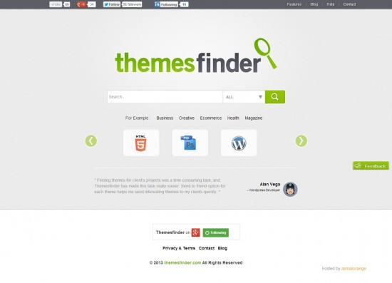 themesfinder