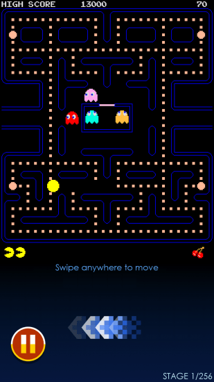Pacman gameplay