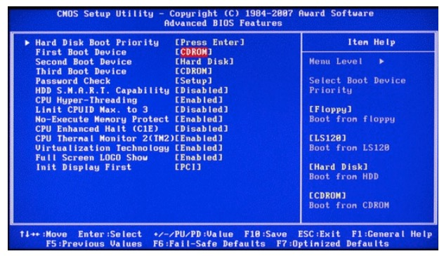 """Troubleshooting – """"Reboot and Select Proper Boot Device"""