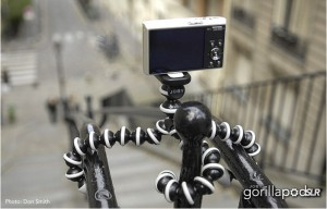 Joby Gorillapod - outside example