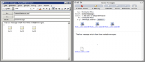 Letter Opener: Nested Messages, Outlook