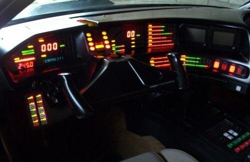 """Knight Rider dashboard (""""Kitt"""")"""