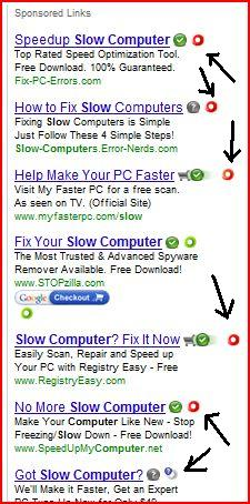 """WOT warnings on """"speed up your PC"""" sites"""