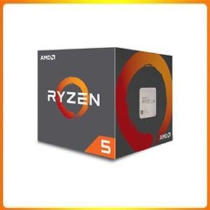 AMD Ryzen 5 1600 65W AM4 Processor with Wraith Stealth Cooler