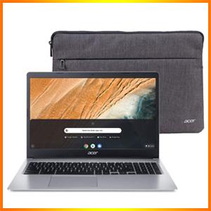 "Acer Chromebook 15.6"" HD Intel Silver (NX.HKBAA.002)"