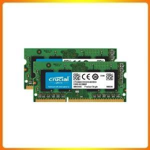 Crucial RAM 16GB Kit (2x8GB) DDR3 1600 MHz