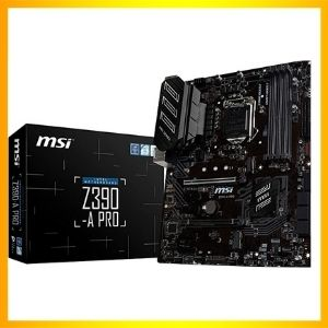 MSI Z390-A PRO LGA1151 (Intel 8th and 9th Gen) Gaming Motherboard