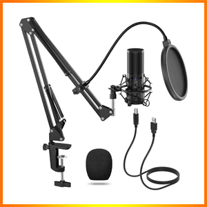 TONOR USB Microphone Kit Streaming Podcast
