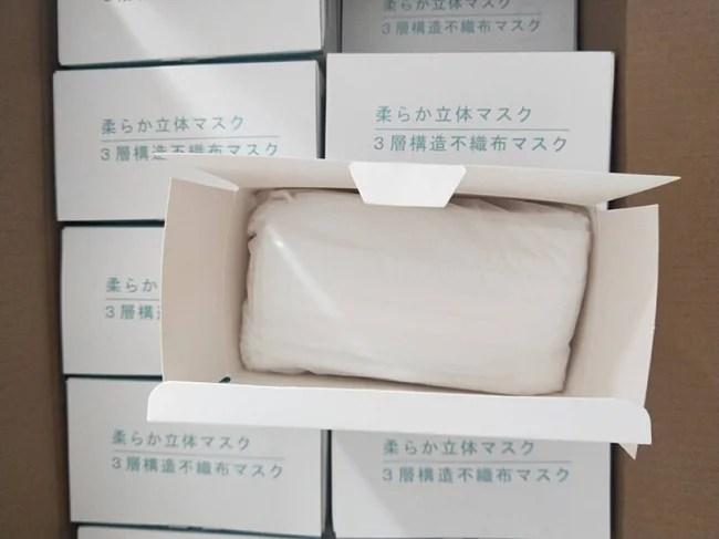 株式会社Gloture 柔らか立体マスク梱包形態