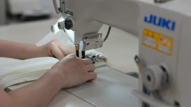 受注が激減した縫製工場へ依頼