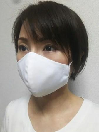 コナカ、COOL MOVEシャツ生地使用洗える立体マスク