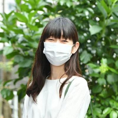 クロスプラス、使い捨て冷感不織布 接触冷感ひんやりマスク
