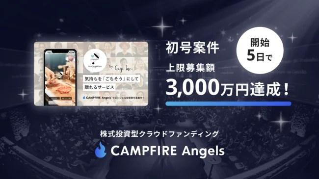 株式会社Gigi、CAMPFIRE Angels(キャンプファイヤー エンジェルス)