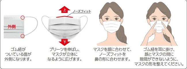 前田工繊、日本製不織布マスク