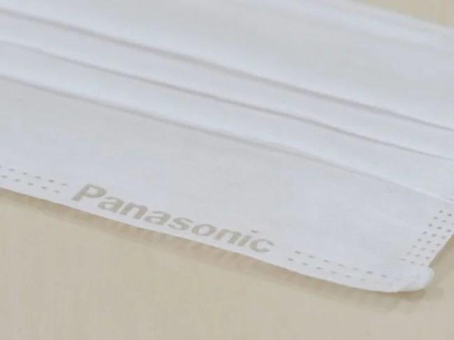 パナソニック、3層不織布マスク
