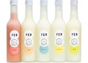 「超発酵」新感覚の日本酒リキュール『FER』