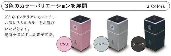 □オゾン除菌脱臭機「エアウォッシュDuo」
