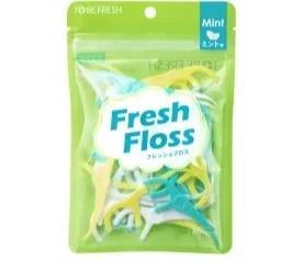 【口臭】トゥービーフレッシュ 「Fresh Floss(フレッシュフロス) 」 50本/498円