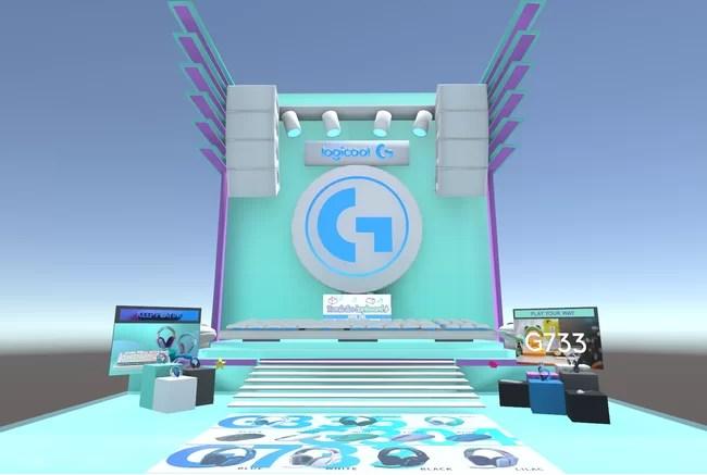 バーチャルマーケット6、Logicool G