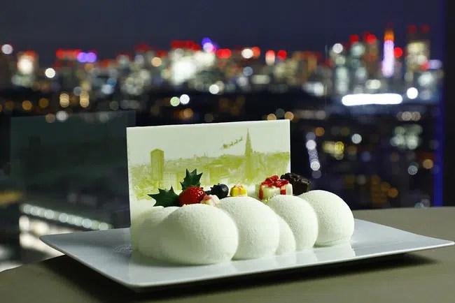 小田急ホテルセンチュリーサザンタワー、クリスマスケーキ2種類の予約受付を開始 リジョイス