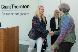 Prime Minister visits TechPixies at PowWow, Grant Thornton