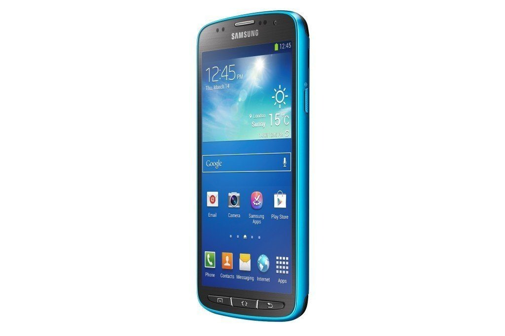 GT I9295 005 Right Perspective Blue 1024x682 - Samsung Introduces the GALAXY S4 Active:The Adventurer's Ultimate Companion