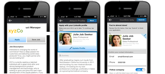 image002 - LinkedIn Makes it easier for members to apply for jobs on mobile.