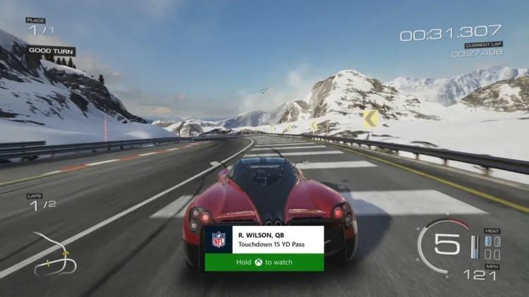 forza fullscreen notification jpg 1024x576 - Xbox One Review