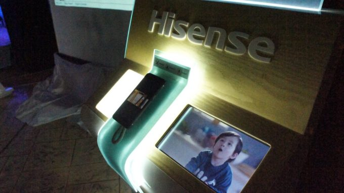 DSC01553 1024x574 - Hisense marks Middle East launch of super-sturdy  'King Kong' smartphone
