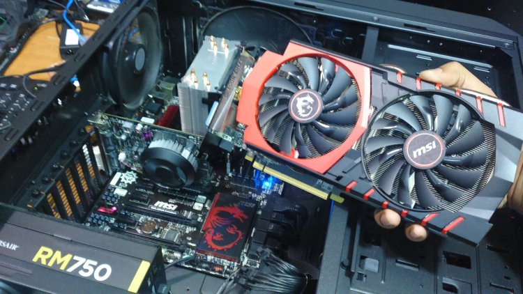 DSC 0068 - A look back at the GTX 750 TI