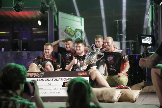 Virtus.Pro - winners of the first ever ESL ESEA Pro League Dubai Invitational