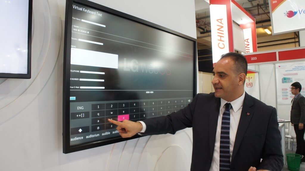 DSC02782 1024x574 - LG makes its mark on Gitex Technology Week 2015