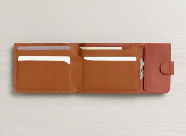 2 bellroy wcfa tamarillo texture bellroywebsite 04 - GEEK ALERT : Bellroy Coin Fold Wallet Review