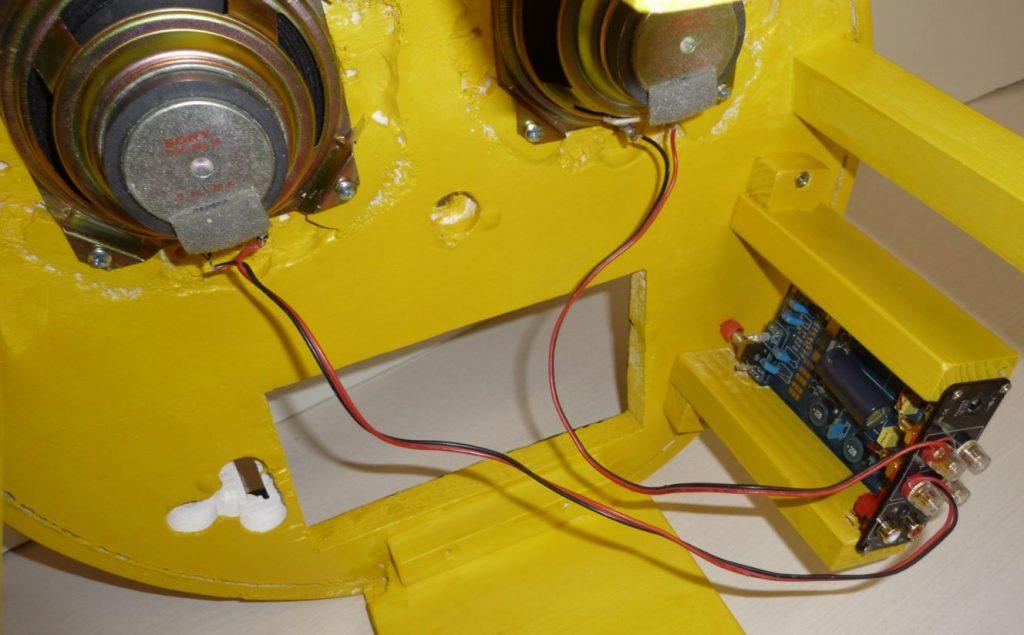 Verstärker und Lautsprecher für Werkstatt Radio mit Raspberry Pi