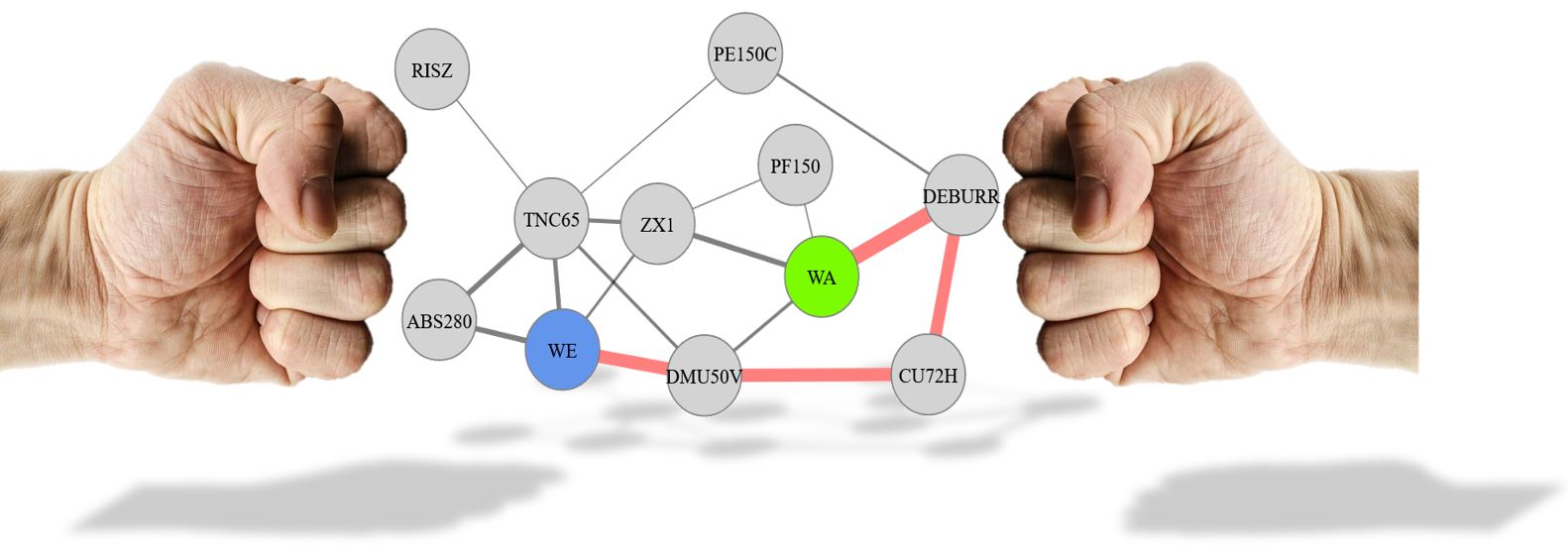 Kräftebasierte Fabrik-Layoutplanung mit Force-Directed-Graphs
