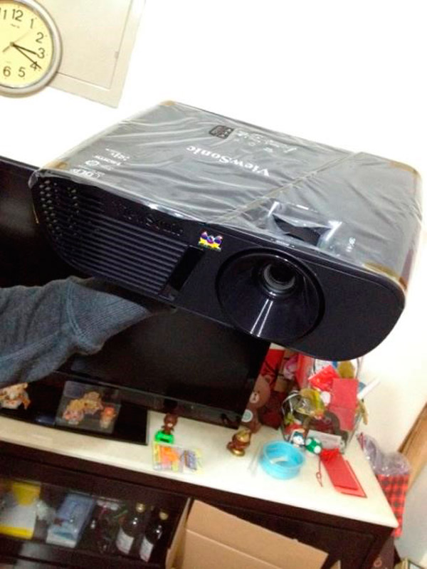 ViewSonic PJD5255 Unboxing (3)