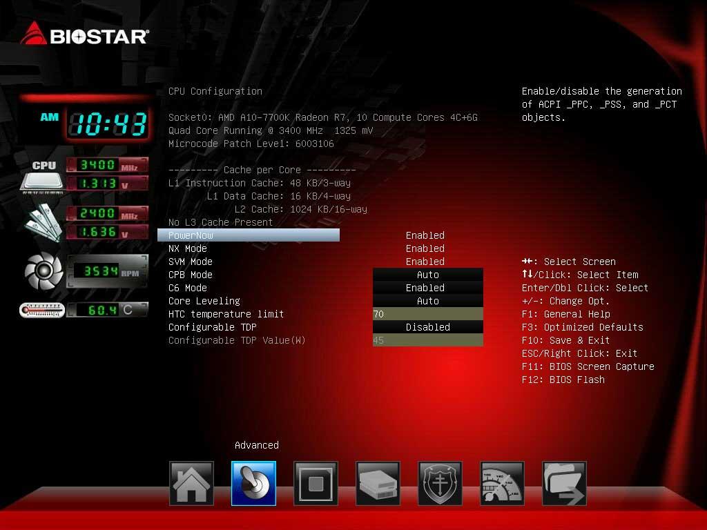 BIOSTAR A70U3P UEFI BIOS (7)