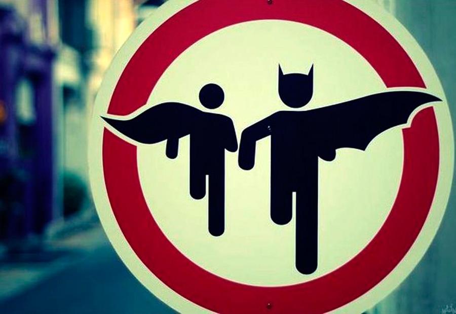Traffic-Sign-Batman