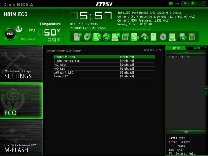 MSI H81 ECO BIOS UEFI (5)