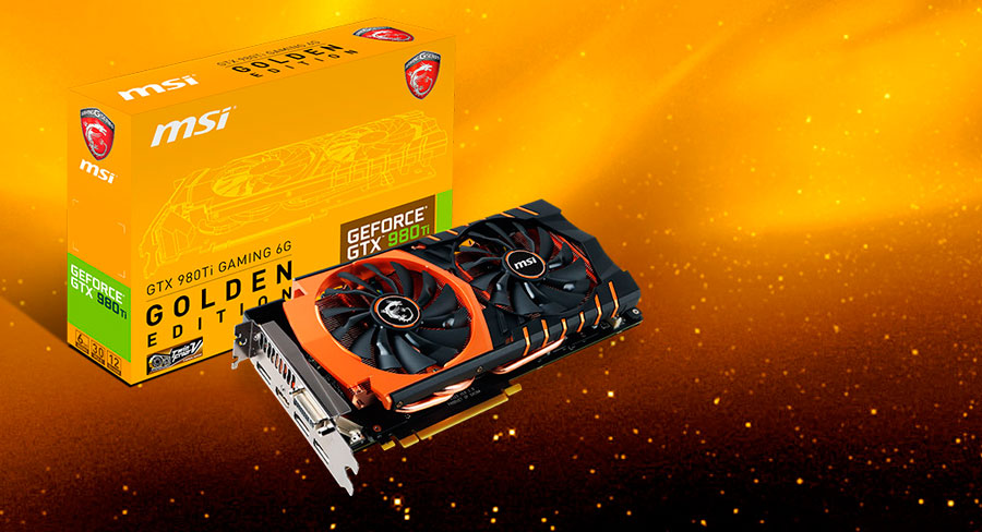 Geforce gtx 980 ti gaming 6g golden edition | graphics card the.