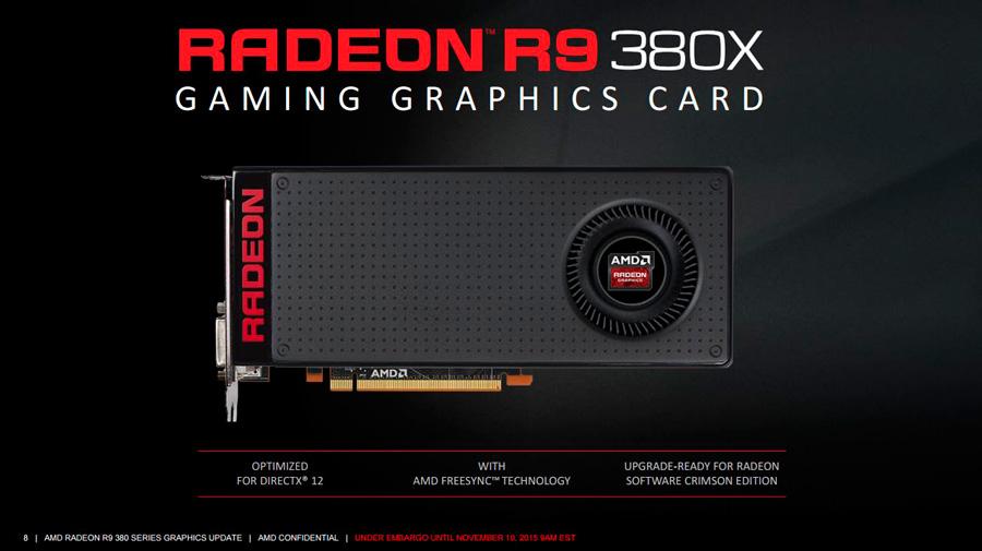 Amd Reveals Radeon R9 Fury 380x Techporn