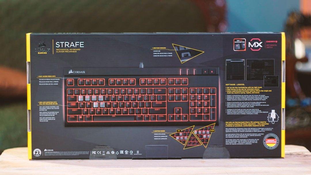 Corsair Strafe Mechanical Keyboard (2)