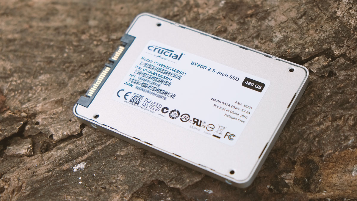 Crucial BX200 480GB SSD Review | TechPorn