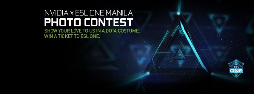Nvidia ESL One Manila Ticket (2)
