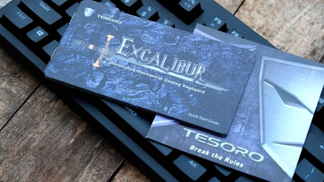 Tesoro Excalibur Mechanical Keyboard (4)