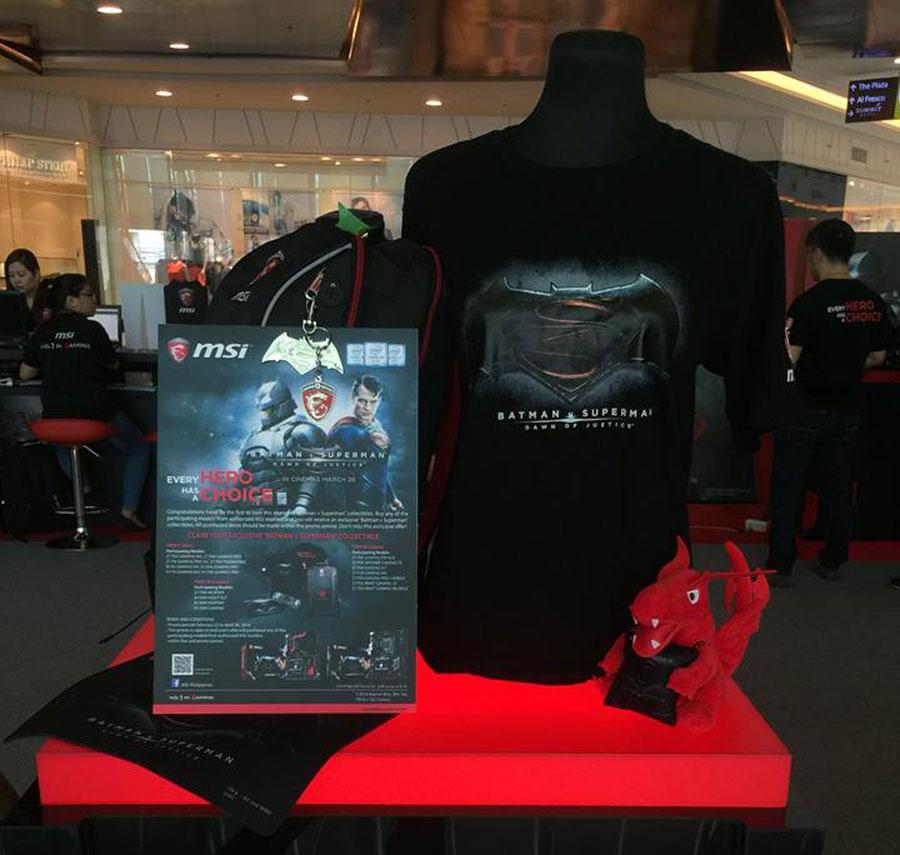 MSI Batman v Superman Road Show Philippines (1)