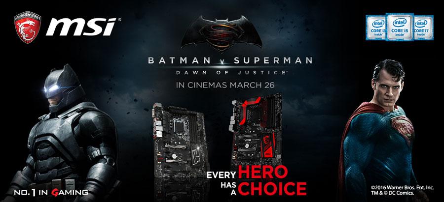 MSI Batman v Superman Road Show Philippines (2)