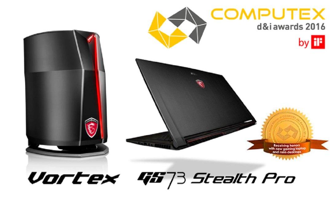 MSI COMPUTEX D&I PR