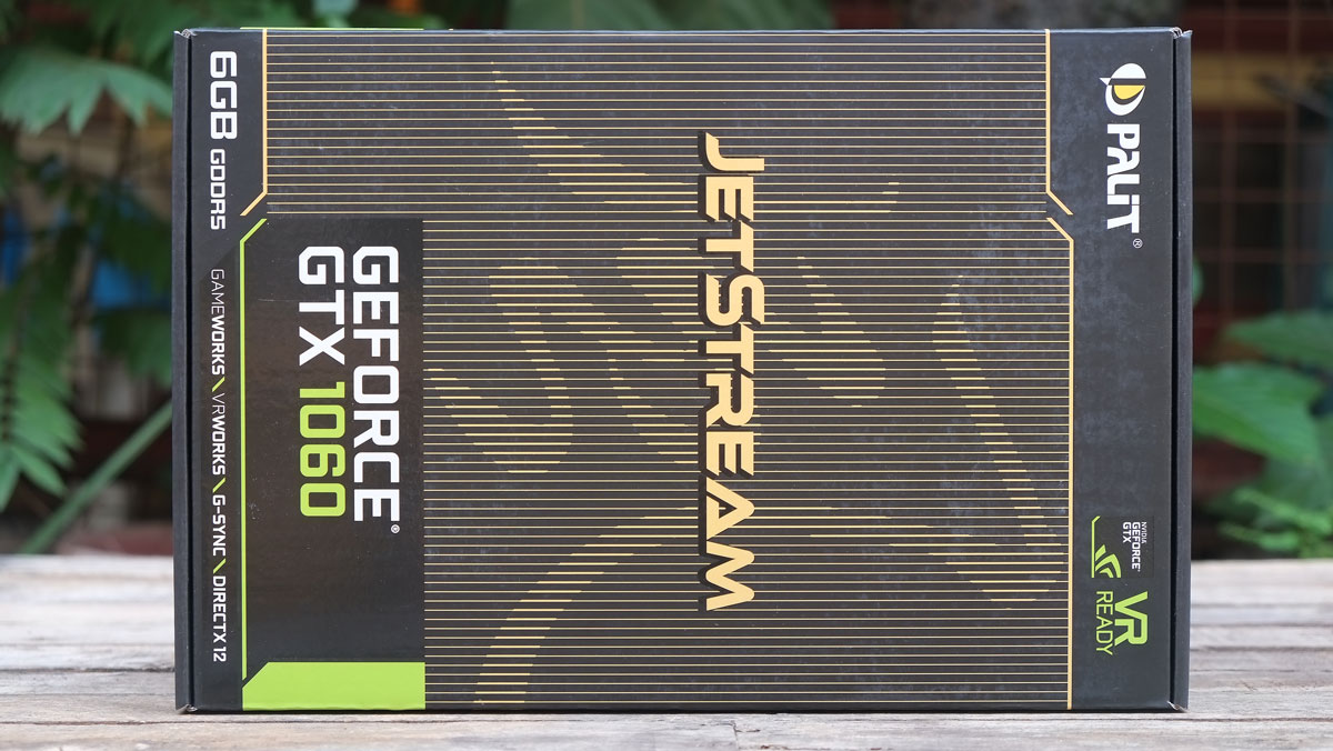 Palit Geforce Gtx 1060 Jetstream 6gb Review Techporn Digital Alliance 3gb Ddr5 Dual 192bit The Box Contains A Quick Installation Guide Driver Dvd And Molex To 6 Pin Power Adapter Not Best Weve Seen But Worst Either